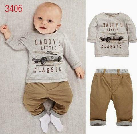 model baju bayi laki laki umur 3 bulan