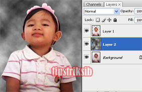 foto : cara membuat background keren ala studio photo dengan photoshop
