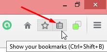 klik ikon bookmark
