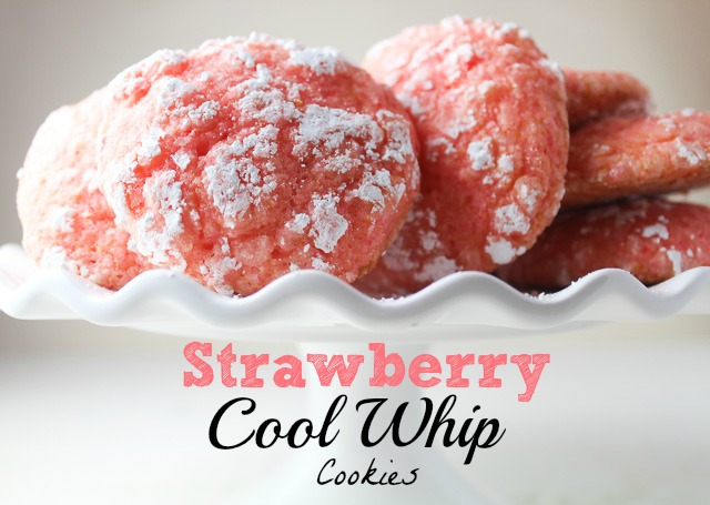 Gluten Free Cake Mix Cool Whip Cookies