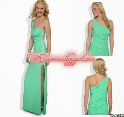 latest party wear prom dresses for girls from summer 2014