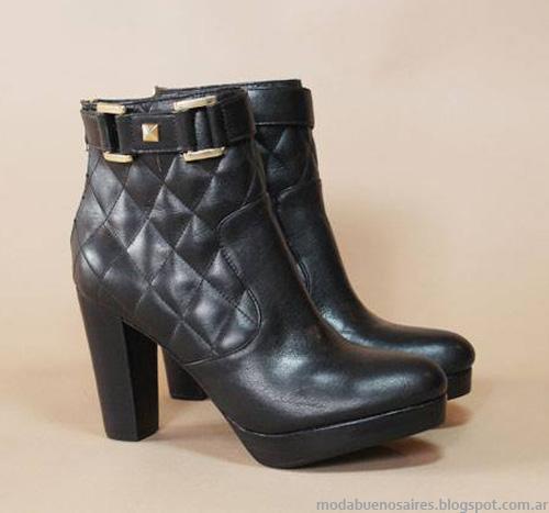Botas invierno 2014 moda en calzado femenino 2014.