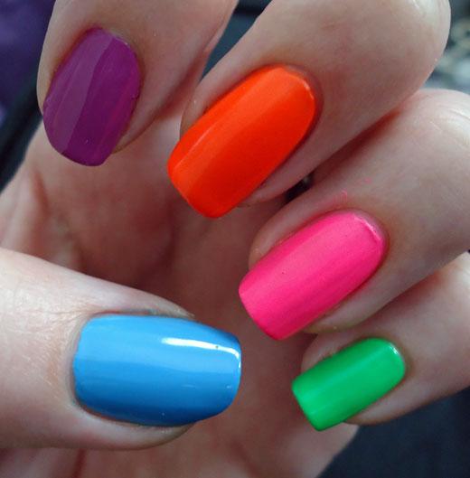 style \'n\' cookies: Neon Nails