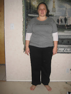 Weight loss before photo