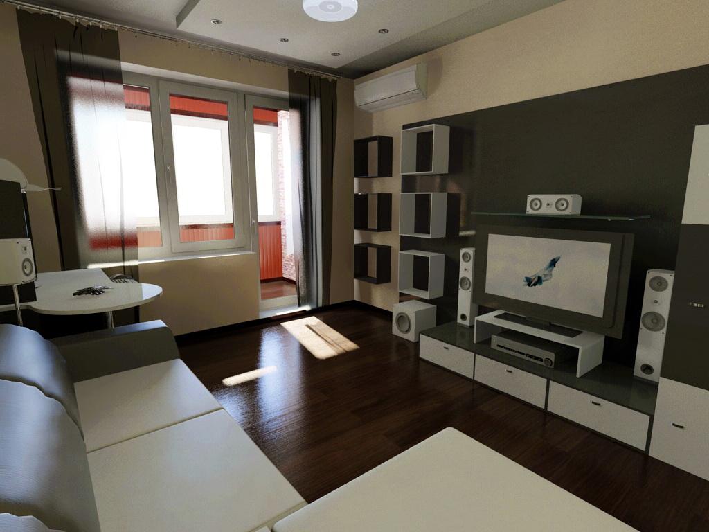 дизайн комнаты в малосемейке фото
