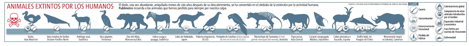 Infografías de animales