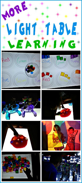 awesome educational light table activities