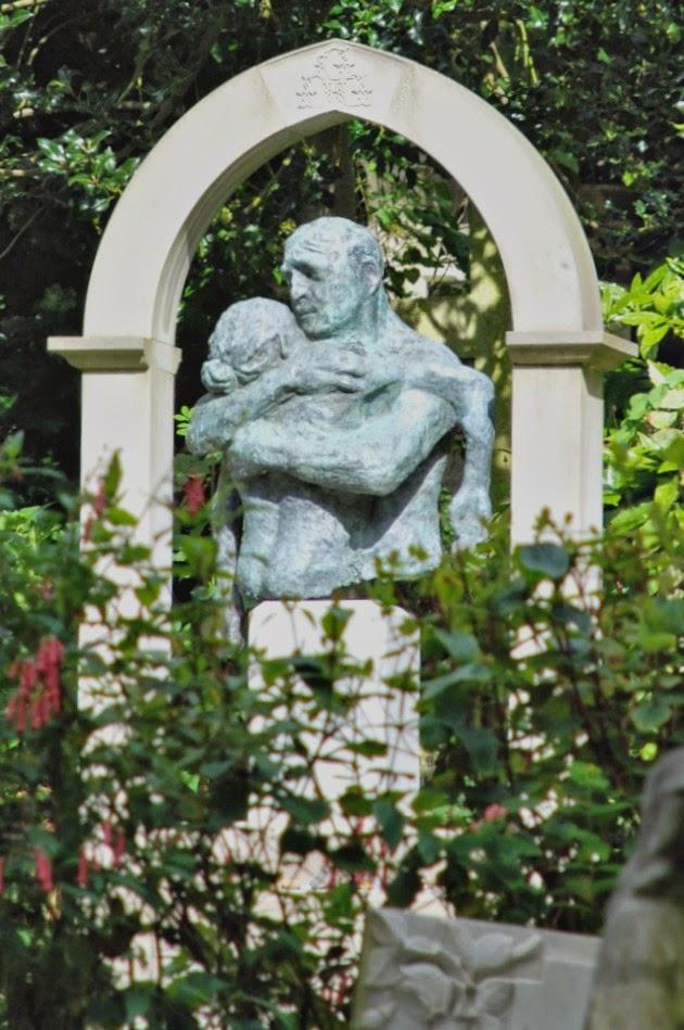 Philip Gould's memorial, Highgate Cemetery, London