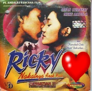 film Ricky Nakalnya Anak Muda nike ardilla