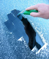 πάγος στο μαρμπριζ