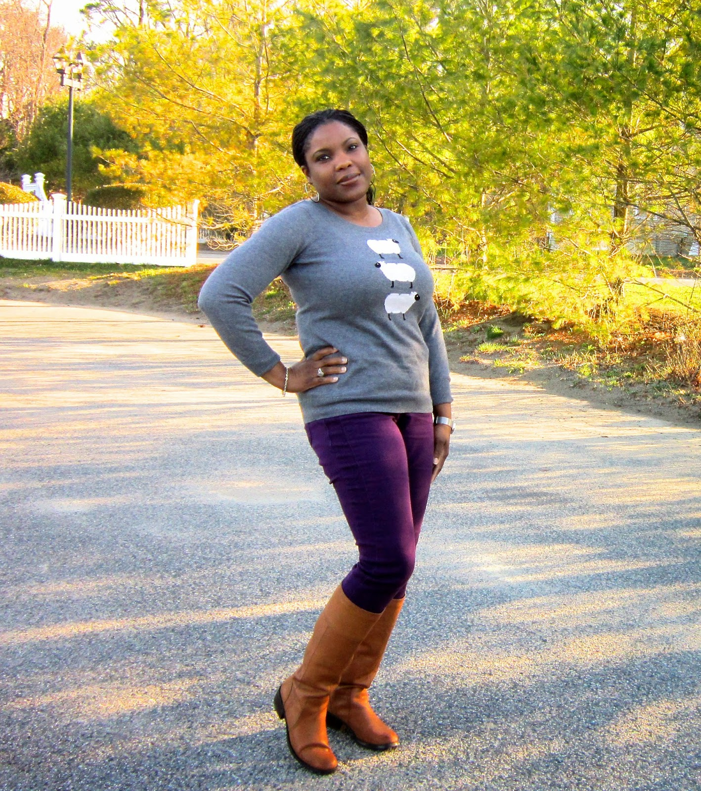 Nine West Boots, Brown Tall Boots