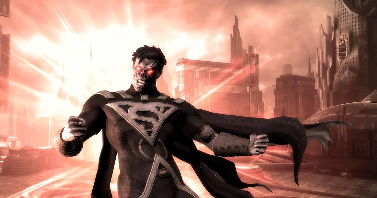 FightVG: Quick Pic: Superman Blackest Night DLC costume