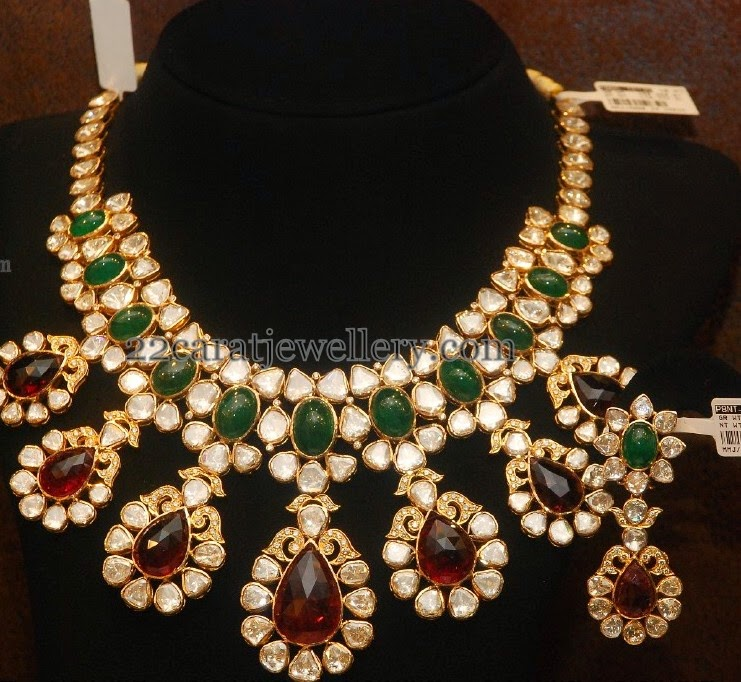 Attractive Pachi Set Colorful Gem Stones
