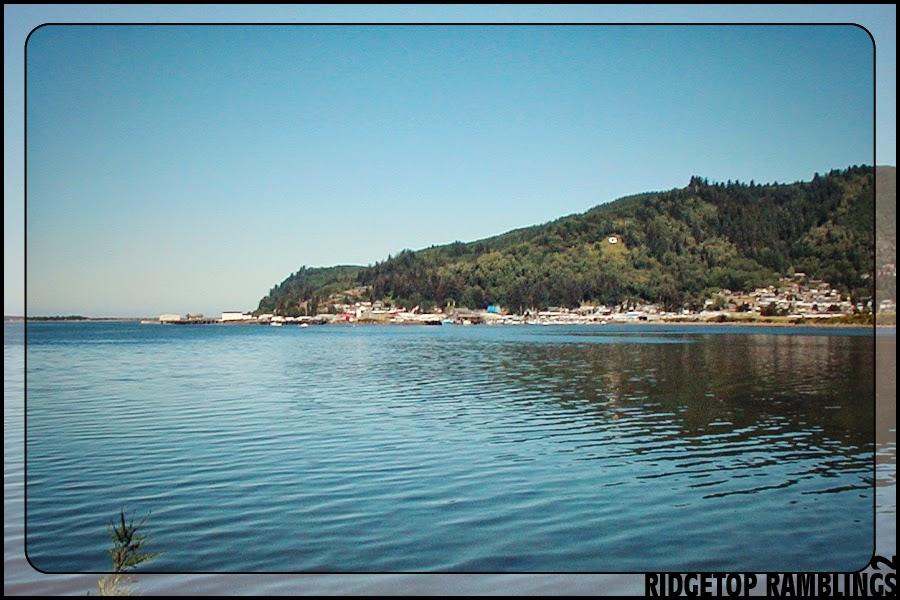 Ridgetop ramblings 2 31 days in oregon tillamook for Tillamook bay fishing