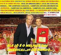D'ALESSANDRO ELEITO O MELHOR JOGADOR DAS AMÉRICAS - 2010