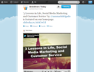 how to get featured in slideshare homepage mediactiv8