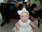 My granddaughter Evie. age 8 months