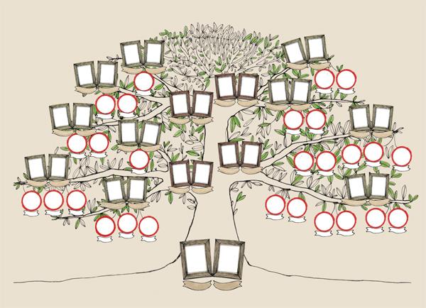 Dise o arbol genealogico imagui - Diseno arbol genealogico ...