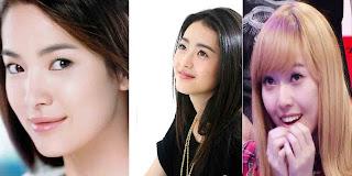 3 artis korea wajah tercantik di dunia, song hye kyo, jessica snsd, go ara wanita tercantik 2011