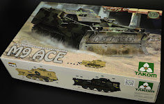 In-Boxed: Peter reviews Takom's 1/35th scale M9 ACE (Armoured Combat Earthmover)