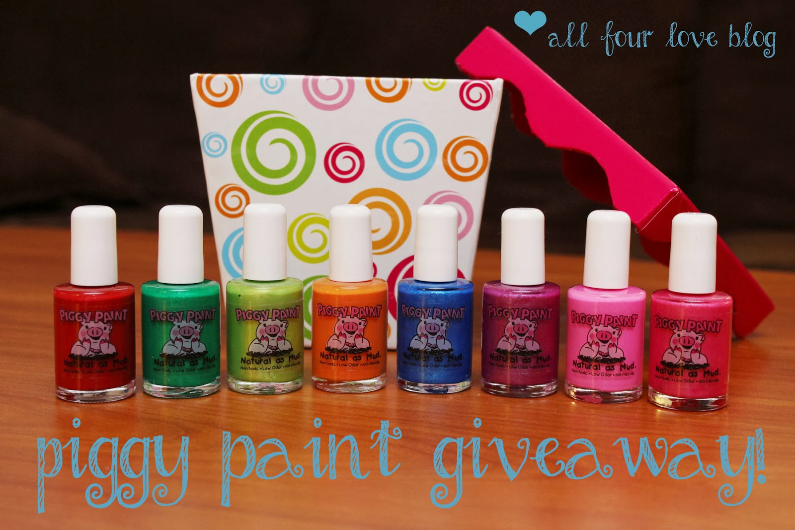 All Four Love: Piggy Paint Review and Giveaway!