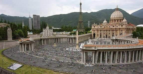 منتزه ساحة العالم توبو في اليابان