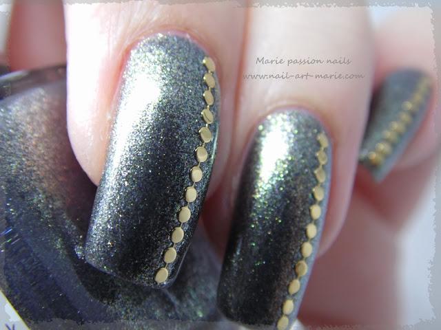 Nail art chic et discret5