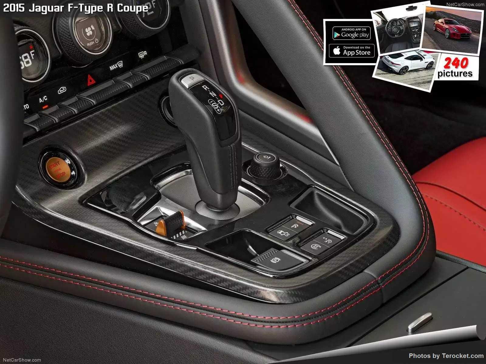 Hình ảnh xe ô tô Jaguar F-Type R Coupe 2015 & nội ngoại thất