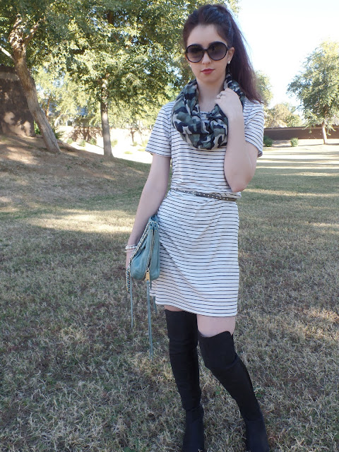 camo and stripes spring transition look