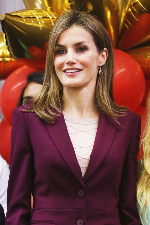 Queen Letizia of Spain Visits Manhattan Elementary School