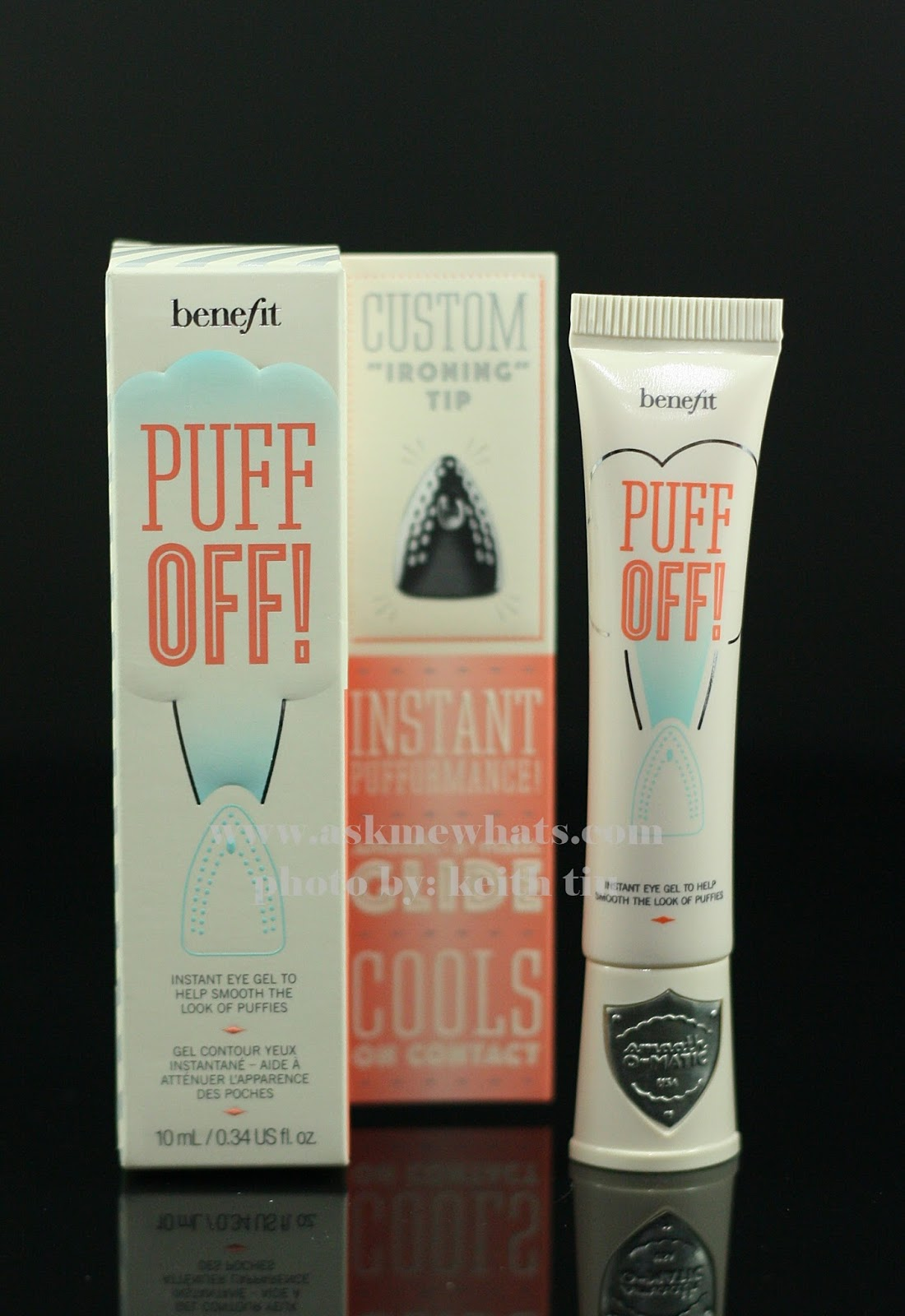 A photo of Benefit Puff Off! Instant Eye Gel