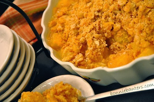 Pineapple Casserole with Triple Cheddar Cheese ~ By Bonnie ...