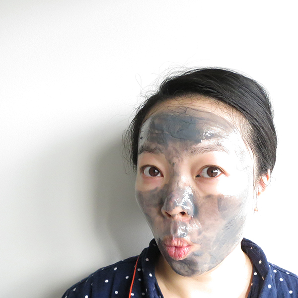 Using Biore Self Heating One Minute Mask