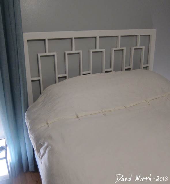 make west elm headboard, white, plans