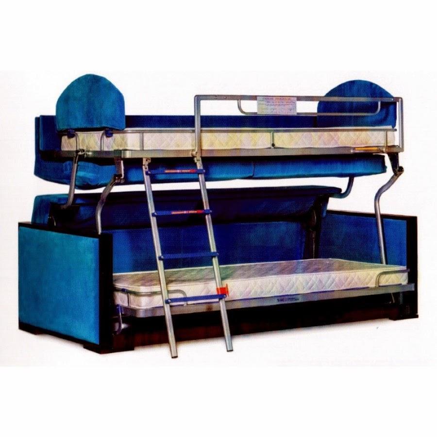 Marzua sof cama litera las mejores soluciones para - Sofas para espacios pequenos ...