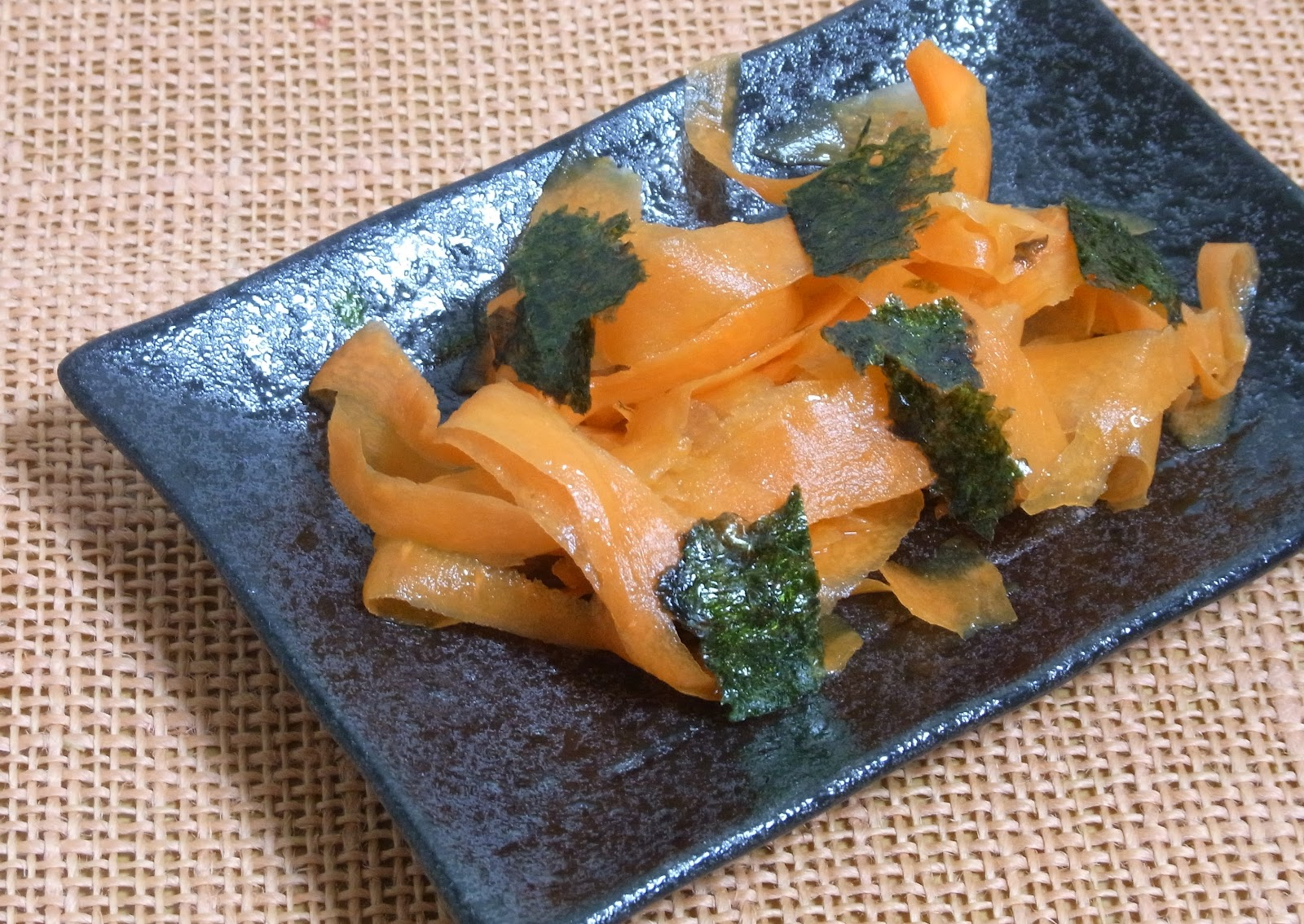 Miso and Yuzu: Japanese-style carrot salad with ginger soy sesame ...