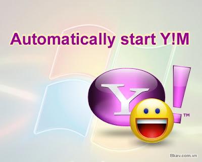 Thay đổi hình ảnh hiển thị khi đăng nhập Yahoo! Messenger