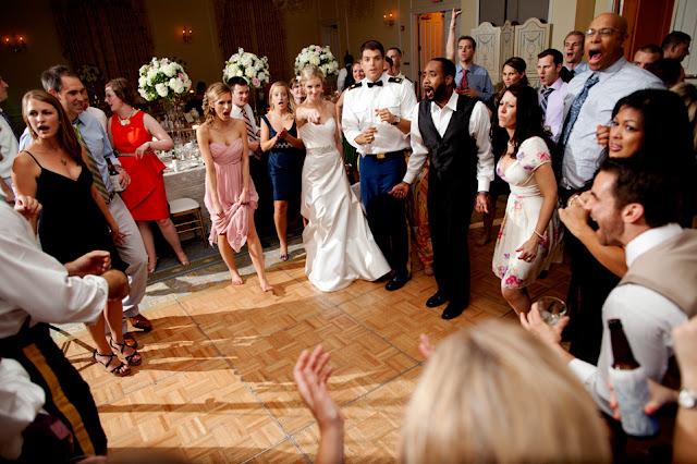 Our Top Ten Secrets to a FUN Wedding Reception
