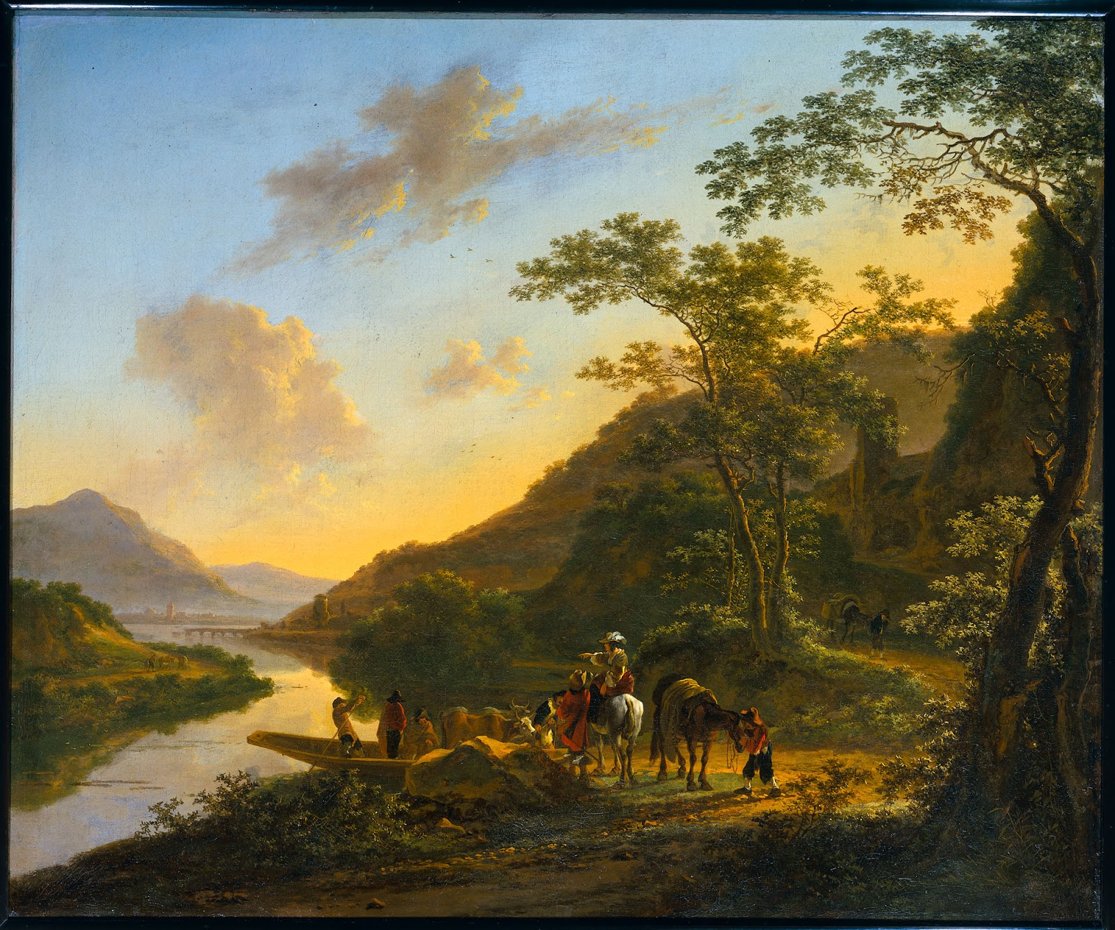 Flemish landscape painting of the xvii th century both for Upullandpay