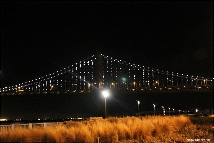 Bay Lights, Bay Bridge, San Francisco