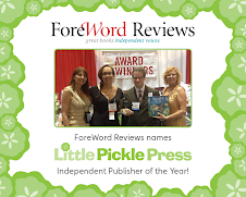 Little Pickle Press is Independent Publisher of the Year!