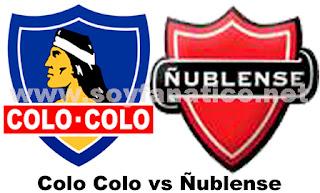 Colo Colo contra Ñublense por la Octava Fecha 2013