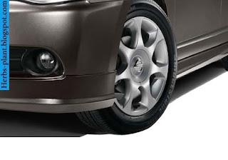 Nissan sylphy car 2013 tyres/wheels - صور اطارات سيارة نيسان سيلفى 2013