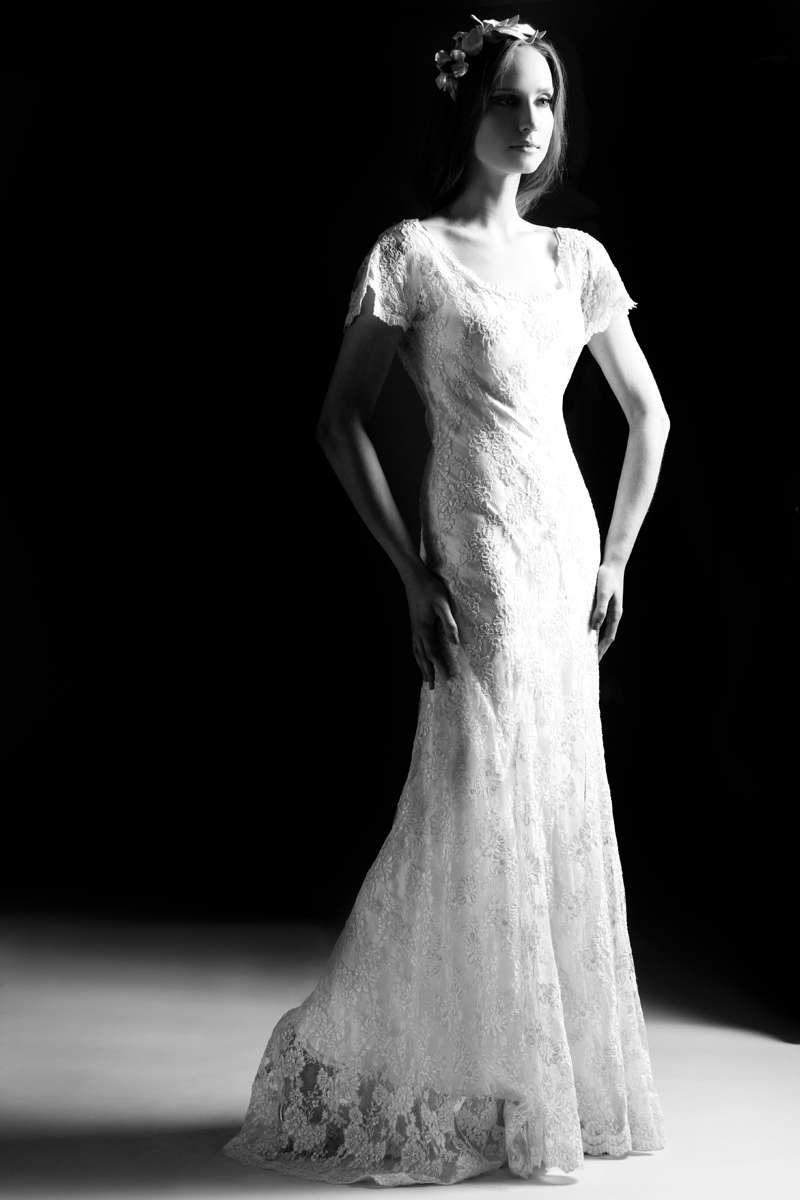 Astral sundholm circa brides may 2012 for 1920 style wedding dress