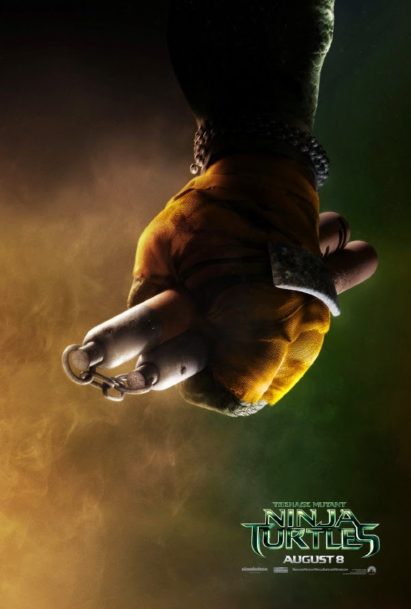 Michaelangelo teaser poster Teenage Mutant Ninja Turtles