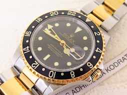 ROLEX GMT MASTER II TWO TONE - ROLEX 16713 TWO TONE SERIAL A YEAR 2000 - MINT CONDITION