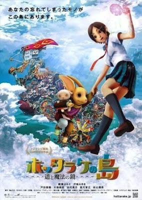 Sinopsis La Isla de los Recuerdos y el Espejo Mágico (Hottarake No Shima - Haruka to Maho no Kagami)(2009):