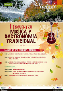 """I ENCUENTRO """"Música y Gastronomía Tradicional"""". Valle del Jerte"""