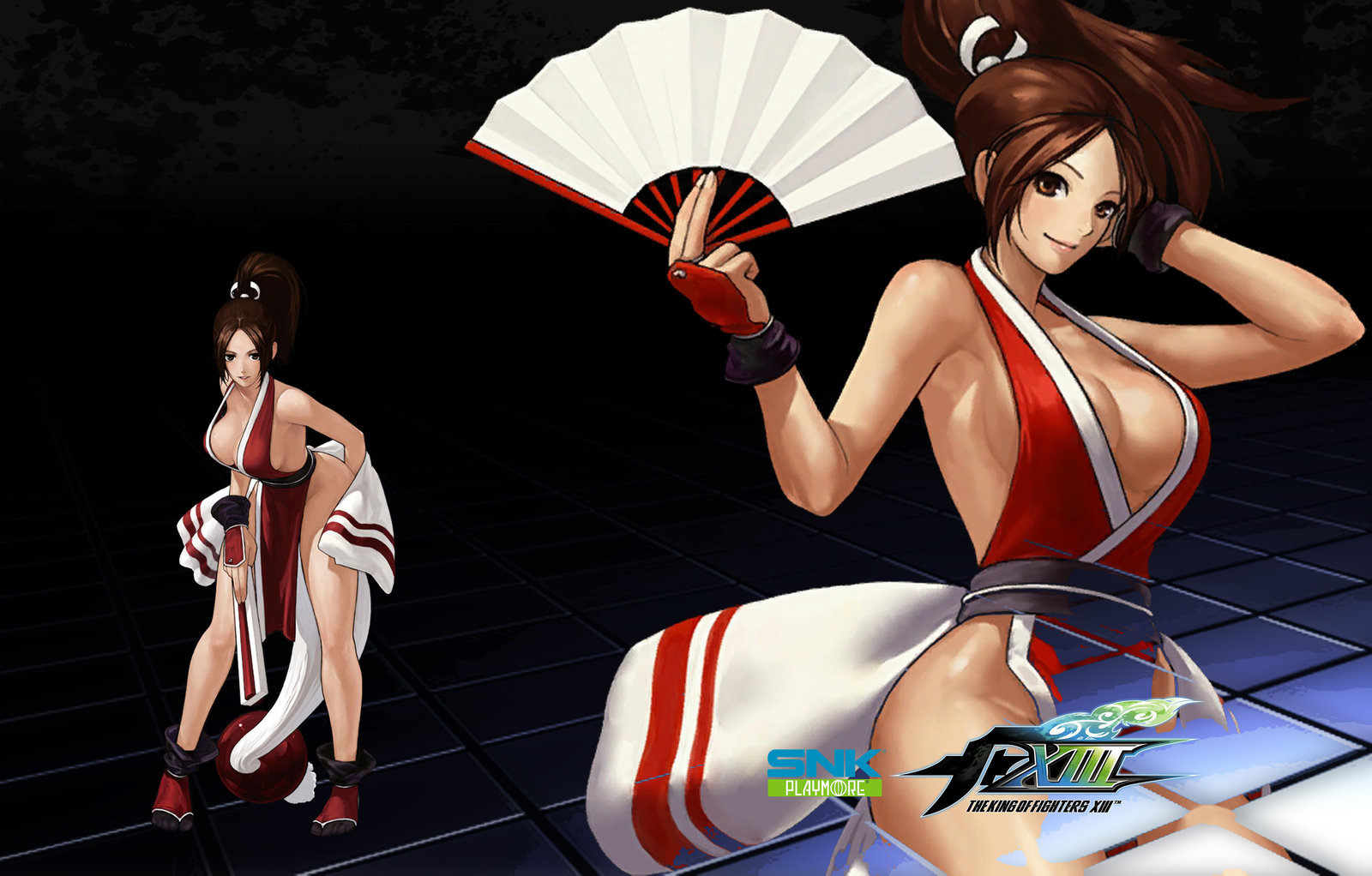 Idea King of fighters mai shiranui variant And