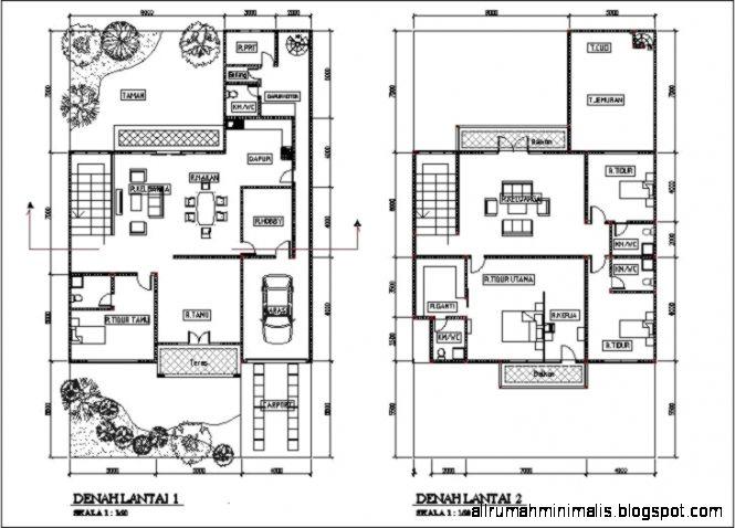 Ayo Baca Tips Terbaik Untuk Denah Rumah Minimalis 2 Lantai